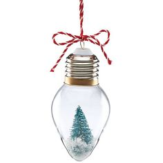 Mini Light Bulb Tree Ornament by Lenox
