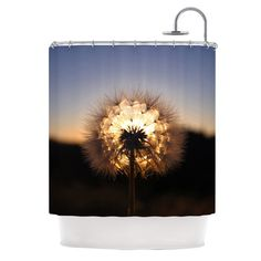 KESS InHouse Glow Shower Curtain