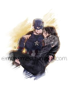 The saddest thing about this is I can bet Bucky carried Steve home all the time after his alley fights. ;-(