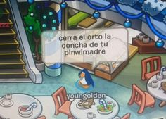 Read 004 from the story Capturas de Club Penguin. Club Penguin Memes, Haha Funny, Lol, Dankest Memes, Funny Memes, Stupid Pictures, Right In The Childhood, Little Memes, Image Memes