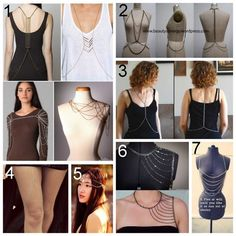 Did anyone see Shark Tank tonight with Litter selling a stake in their Jewelry Body Armor Company? They said their pieces start at around retail $100 ($150 for the headpieces) and cost about $2 to make.  DIY Inspiration. Body Chains/Body Armourhere.  DIY Body Chain for $20here.  DIY Body Chain for $8.50 with Detailed Diagram and Instructionshere.   Etsy Epiphany Thigh Chainhere(Etsy listing doesn't exist anymore, but you get the idea).  DIY Chain Headpiece Tutorialhere.  DIY Body Ar