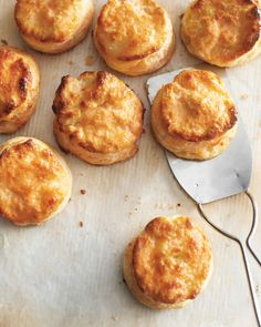 Homemade biscuits are delicious with butter and preserves or honey. Or serve them as cocktail sandwiches, with thin shavings of ham and a dab of mustard. We love the idea of using homemade baking powder, but store-bought will also work.