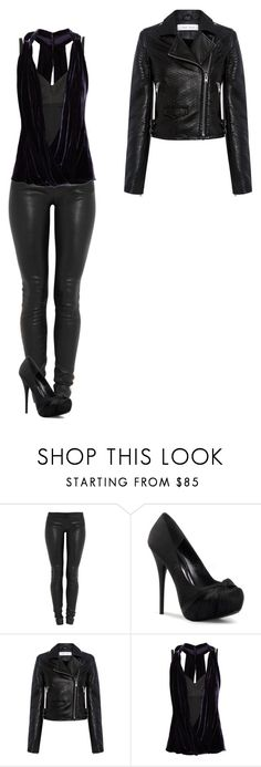 """""""Untitled 761#"""" by haruhikurosaki-demon ❤ liked on Polyvore featuring Jay Ahr, IRO and Robert Rodriguez"""
