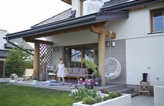 Merlin Home, Outdoor Living, Outdoor Decor, House Made, Backyard Landscaping, Porch, Pergola, Outdoor Structures, Relax