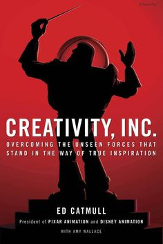 "Creativity, Inc.: Overcoming the Unseen Forces That Stand in the Way of True Inspiration #entrepreneur #book http://www.developgoodhabits.com/creativity-inc  Ed Catmull, co-founder of Pixar Animation, comes an incisive book about #creativity in #business - ""One of the BEST books of the year""- according to the NYT bestseller list"