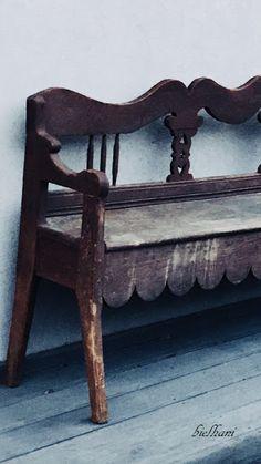 bielhani: Trochę wiosny, moje chciejstwa i stara ławka