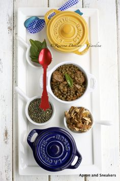 Apron and Sneakers - Cooking & Traveling in Italy and Beyond: Lentils With Porcini & Sausage