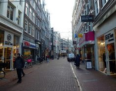 The Kalverstraat is lined with numerous stores suited to every budget and style.