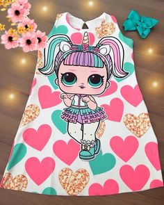 No hay descripción de la foto disponible. 10 Year Old Gifts, Couples African Outfits, Doll Fancy Dress, Happy Balloons, August Birthday, Kool Kids, Carnival Birthday Parties, Doll Party, Lol Dolls