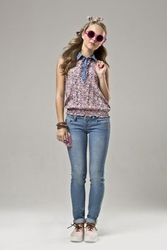 Clothing female teen