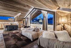 The House In Chalet Style From Zwd-Projects Studio Modular Home Floor Plans, House Floor Plans, Inspiration Design, Interior Inspiration, Chalet Interior, Interior Design, Italy House, Grey Pictures, Design Salon