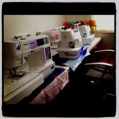 My mini sew room :)