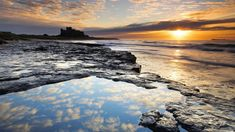 nice bamburgh castle silhouette wallpaper Check more at http://www.finewallpapers.eu/pin/16584/