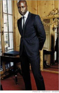 No one wears Oswald Boateng like Oswald Boateng!