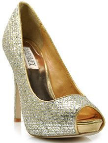 ON SALE .......Badgley Mischka wedding shoes www.finditforweddings.com Bridesmaid shoes evening shoes