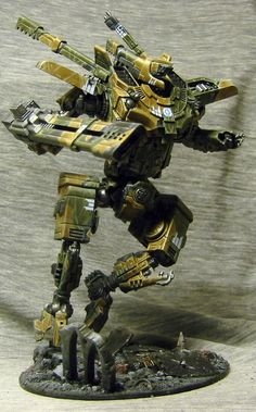Tau Intruder Titan Front - Always thought the Tau needed Titans.
