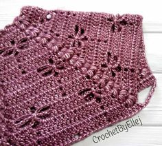Best 12 It is a website for handmade creations,with free patterns for croshet and knittiLeaf Yoke Sweater Crochet pattern by Natalia Kononova Crochet Tank Tops, Crochet Blouse, Crochet Beanie, Knitted Hats, Crochet Girls, Crochet Woman, Cute Crochet, Knit Crochet, Crochet Bolero Pattern