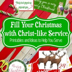 This is going to make my life easier come Christmas. Keeping Christ in Christmas with service and tons of printables to put everything together. I love products that make me look good.