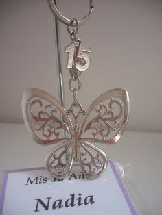 Sweet 15, Crosses, Keychains, Book Art, Butterfly, Rose Gold, Neon Birthday, Blue Butterfly, Key Chains