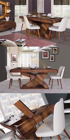 Modern tarzın bulunmaz tasarımı Elegance modern yemek masası takımı Mobilyam Online farkı ile satışta!