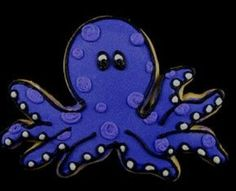 Octopus cookie