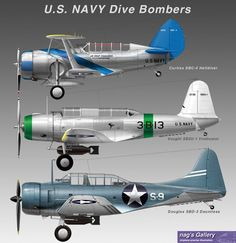 The next two aircraft would be the SB-2C and the A1 Skyraider