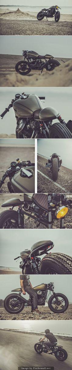 Honda CX500 Cafe Racer by Nozem Caferacer #caferacer #motos #motorcycles | caferacerpasion.com