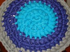 Almohadones Tejidos Crochet Con Hilos De Tela (totora)