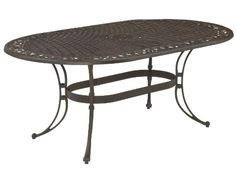 Home Style 555533 Biscayne Oval Outdoor Dining Table Rust Bronze Finish <3 Find similar swimwear by clicking the VISIT button