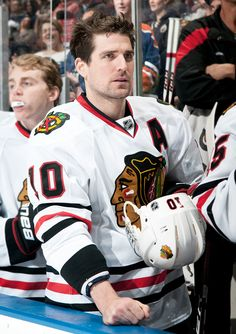 Isn't it about time the EA Sports NHL 13 cover got a little more ruggedly handsome? Vote for Sharpie today! http://blackhawks.nhl.com/club/page.htm?id=79554