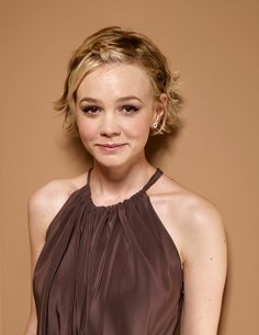 Carey Mulligan agh! Her growing out version of the pixie is flawless!