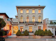 The Historic Hellman Mansion in San Francisco