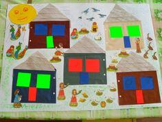 Lepenie textilu, papiera. Activities For Kids, Kids Rugs, Children, Decor, The Neighborhood, Young Children, Boys, Decoration, Kid Friendly Rugs