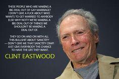 GO CLINT EASTWOOD!