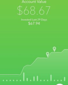 My investment portfolio... Born 2017. After almost 43 years I FINALLY started one.  Never be afraid to: ::: START ::: $1 at a time  I chose #Acorn because it was SIMPLE and rolls up my change of each card purchase to invest.  I barely noticed it. AND I can withdraw my balance at any time without penalties. I plan to not touch it until I have enough to either start a new businesses or?? Glad to have that option!  Let me know if you would like to give it a try. I can send you my referral LINK…