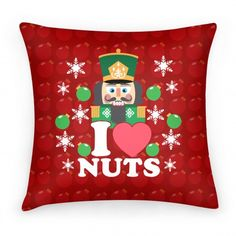 I Heart Nuts -Nutcracker Xmas