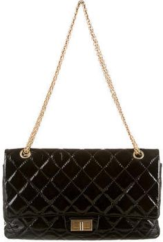 Chanel Reissue 227 Patent Flap Bag