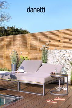 Garden Furniture Inspiration, Modern Garden Furniture, Outdoor Furniture Design, Backyard Furniture, Sunbrella Outdoor Furniture, Sectional Patio Furniture, Outdoor Patio Designs, Outdoor Pergola, Garden Side Table
