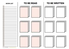 Writing Journal Worksheet – Books (PDF) Reading lists are my favourite kind of to-do list! Here's a simple worksheet for your writing journal where you can note down the books in your TBR pile, and envision the books you're going to write. Tips Fill in this worksheet for your weekly, monthly, seasonal, or yearly reading.…