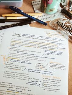 cw0630: Reviewing French verbs and looking at the causative…can't wait for school to start!