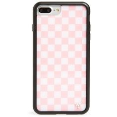 Women's Wildflower Checkerboard Iphone 6/7/8 Plus Phone Case (€30) ❤ liked on Polyvore featuring accessories, tech accessories, apple iphone case, wildflower iphone cases, retro iphone case, iphone cover case and iphone cases #iphone7pluscase #iphone6cases, #iphone6case,