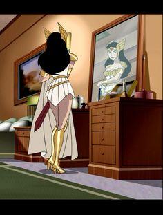 Princess Diana, Princess Zelda, Justice League Animated, Dc Universe, Brave, Daughter, Wonder Woman, Animation, Cartoon