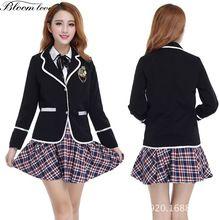 4ac8ad8ea0549 Coreano Uniforme Da High School popular-buscando e comprando fornecedores  de sucesso de vendas da China em AliExpress.com