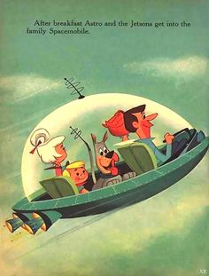 The Jetsons .We are experiencing things now that we thought could never happen except on the Jetsons! Vintage Tv, Vintage Cartoon, Vintage Space, Great Memories, Childhood Memories, Hipster Stil, Nostalgia, Cartoon Photo, Retro Vintage