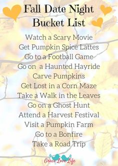 Fall Date Night Bucket List + A New Hashtag! This Fall Date Night Bucket list is perfect for couples and families. Click through the link to print this for free! Couple Activities, Autumn Activities, Couple Games, Social Activities, Indoor Activities, Summer Activities, Dating Quotes, Dating Tips, Geek Dating