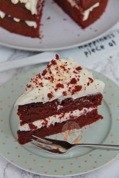 A delicious & light and moreish Red Velvet Cake smothered in Cream Cheese Frosting – Hello Cake Heaven! HAPPY 1ST BIRTHDAY TO MY BLOG –...