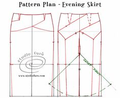 well-suited: Pattern Puzzle - Homage to Charles James 1950