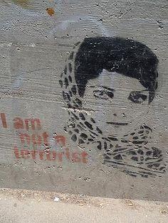Banksy  I'm NOT a terrorist