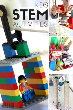 Craft a LEGO zip line STEM activity for a neat physics lesson or cool play time idea for SUMMER. A LEGO zip line activity is a great boredom buster with simple supplies! Science Activities For Kids, Stem Science, Preschool Science, Science Experiments Kids, Stem Activities, Science Fair, Kid Science, Elementary Science, Summer Activities