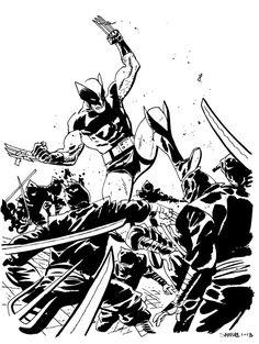 Wolverine by Chris Samnee